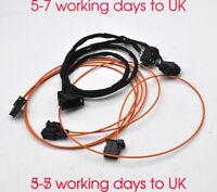 Cable Set CD Changer MMI 2G Plug Play Fibre Optic For audi AMI 2G Navigational
