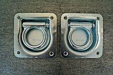 Zurrmulde // Zurröse mit Feder versenkbar NEU 100 x 95 mm 800 KG belastbar
