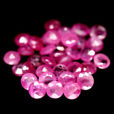 3.56 Carats 30pcs Natural Reddish Pink RUBY for Jewelry Setting