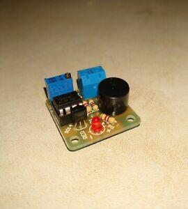 12V Low Battery Voltage Alarm Under Voltage PCB, adj 8v to 15v, solar, turbine