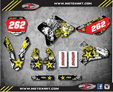 Full Custom Graphic Kit Suzuki RM 85 2001 - 2017 GRAFFITI style decals stickers
