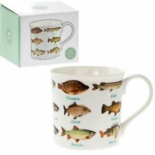 Tiger Design Fine China Mug Safari present Gift Boxed NEW FREE POSTage