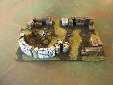 25/28 Mm Terrain Painted And Based Storage Depot