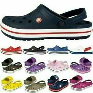 UnisexHerren Croc 11016 Clogs Crocband Loch Hausschuhe Sandale Schuhe Badeschuhe