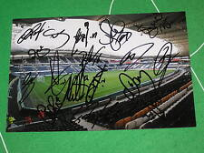 Hull City AFC Stadium Photograph Signed x 17 2014/15 1st Team Squad