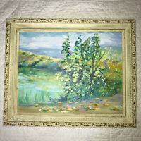 Spring landscapes hand painted original oil PAINTING impressionist bright pastel