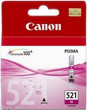 Canon CLI-521M Ink Cartridge Magenta MP640 MP620 MP540 Genuine Sealed