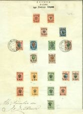 EDW1949SELL : POLAND 1917-18 Very Scarce collection of Polish Army Corps.