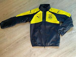 BVB Jacke - Trainingsjacke - Original Borussia Dortmund Fanshop - Puma Größe 140