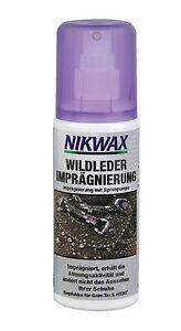 (1 Liter / 79,60 Euro) 125 ml Nikwax Nubuk & Suede Spray Wildleder Imprägnierung
