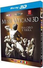 Musei Vaticani 3D Blu-ray Cappella Sistina Raffaello Leonardo Vatican Museums