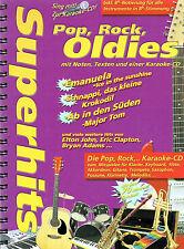 Superhits - Pop, Rock, Oldies - Noten und Text - Keyboard, Gitarre, Klavier ...