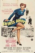 SKIRTS AHOY Movie POSTER 27x40 Esther Williams Joan Evans Vivian Blaine Barry