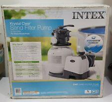 Intex 26645EG 2100 GPH Above Ground Pool Sand Filter Pump MISSING PARTS