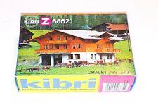 "kibri z-6862 ""chalet gsteig"" kit, NOB"
