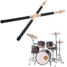 1 Pair High Quality WoodenHot Rods Rute Jazz Drum Sticks Drumsticks 40cm F7