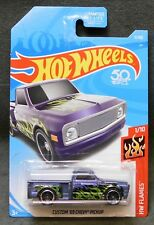 2018 Hot Wheels Car 11/365 Custom '69 Chevy Pickup - A or B Case