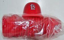 Lot of (20) ST. LOUIS CARDINALS Ice Cream SUNDAE HELMETS New Baseball Mini Bowl