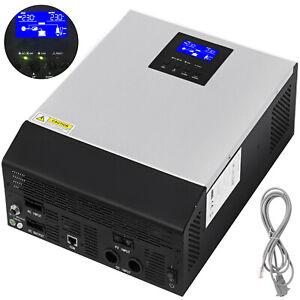 3KVA MPPT Off Grid Solar Wechselrichter 2400w 24V Hybrid AC Ladegerät LCD