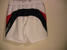 SPEEDO Men's Swim White  Polyester SHORTS Medium