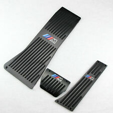 Brand New Black Fuel Brake Foot Rest AT Pedals Pads Plate M Fr BMW X5 E70 X6 E71