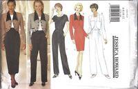 UNCUT Vintage Butterick SEWING Pattern Jessica Howard Jacket Dress OOP 4736 NEW