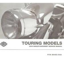 New listing 2004 Harley-Davidson Touring Service Manual -Flhtcu-Flhr-Flhrs-Fltr-F lht-Flhtc