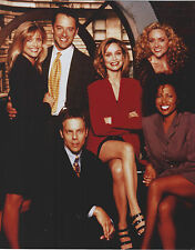 ALLY MCBEAL CAST 8 X 10 PHOTO WITH ULTRA PRO TOPLOADER