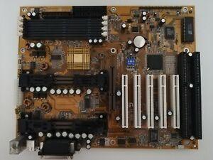 Gigabyte GA-6BXD rev 1.6 Motherboard Dual Slot 1 PII/PIII working