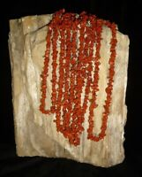 Red Jasper Gemstone Necklace Chakra Healing Brazil Crystal Reiki