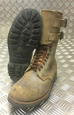 Genuine French Foreign Legion Brown Leather / Suede Army Boots Size 43 NEW FB103