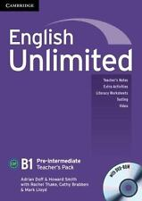 English Unlimited B1 Pre-Intermediate Teacher's Pack [With DVD ROM] (Mixed Media