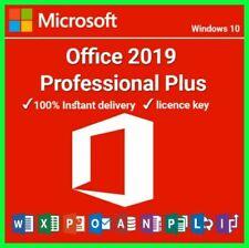Microsoft Office 2019 Pro Plus Lifetime License Key fast delivry