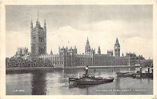 BR20501 Houses of parliament London ship bateaux United Kingdom