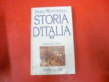 INDRO MONTANELLI-STORIA D'ITALIA n.32-GLI ANNI DELLA DESTRA-FABBRI EDITORE-1994