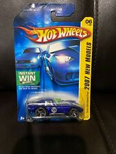 2007 Hot Wheels New Models Shelby Cobra Daytona Coupe Blue