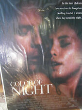 Authentic Color Of Night Movie Poster 1994 Bruce Willis Jane March RARE FULL