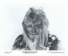 RARE Vintage 8x10 Star Wars Picture Chewbacca Peter Mayhew Press Kit Photo