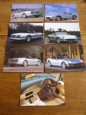 TVR  CHIMEARA  FACTORY ISSUED POSTCARDS X 7 - BROCHURE CONNECTED