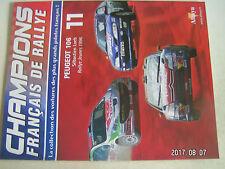 ** Champions français de Rallye n°11 Sébastien Loeb Peugeot 106