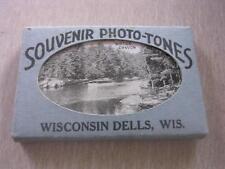 "20 1 3/4 x 2 3/4"" Souvenir Photo-Tones in Orginal Package Wisconsin Dells WI Wis"