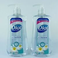 2-Pack Dial Complete Liquid Hand Soap White Tea Kills Bacteria 11 Fl.oz Each
