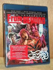 From Beyond (Blu-ray/DVD, 2013, 2-Disc) NEW horror HP Lovecrafts Jeffrey Combs