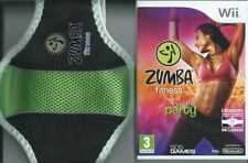 Zumba 1+ Ceinture Fitness Party yourself into Shape = nintendo wii = avec Fitness Ceinture = VG