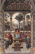 Enea Piccolomini si Presenta al Re di Scozia, Secondo Quadro
