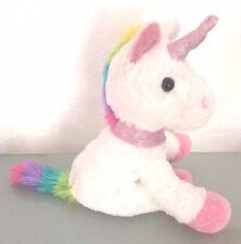 Kuscheltier Einhorn unicorn Regenbogen Glitzer weiß flauschig süss Baby Geschenk
