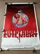 SILENT NIGHT EVIL NIGHT (1975) 40 x 60  original poster