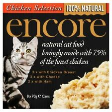 Encore Cat Tin Multipack Chicken Selection 8 X 70g (pack of 6)