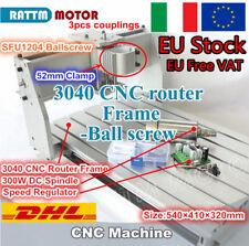 【IT free】3040 CNC Milling Desktop Fresatrice Incisione Macchina+300W DC Mandrino