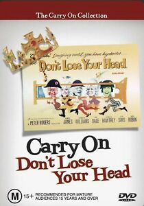 Carry On Don't Lose Your Head [1967] (DVD, R4, 2005)